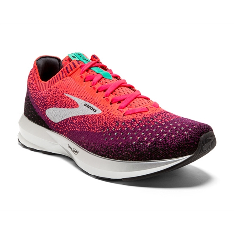 brooks Women's Levitate 2 Pink / Black / Aqua