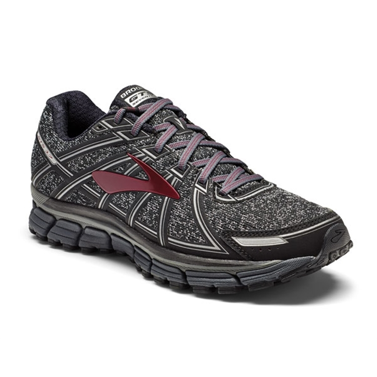brooks Men's Adrenaline GTS 17 Port / Charcoal / Black