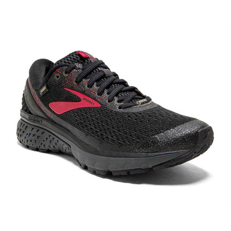 brooks Women's Ghost GTX 11 Black / Pink / Ebony