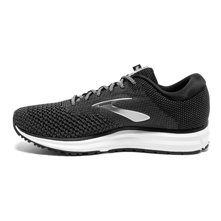 brooks Women\'s Revel 2 Black / Grey / Grey