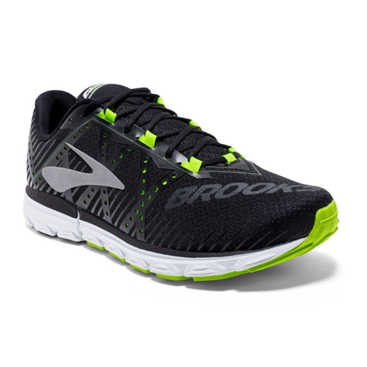 brooks Men's Neuro 2 Black / Nightlife / White