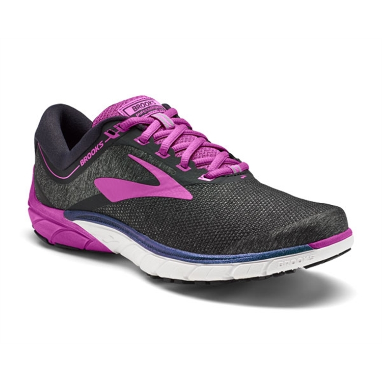 brooks Women's PureCadence 7 Black / Purple / Multi