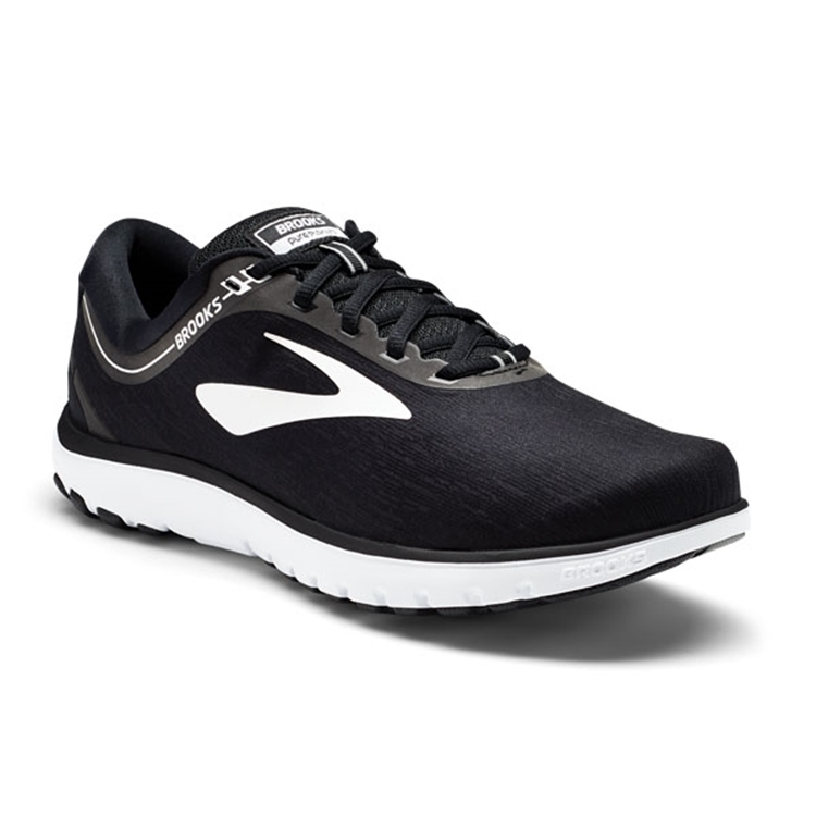 brooks Men's PureFlow 7 Black / White
