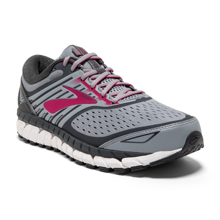 brooks Women\'s Ariel 18 Grey / Grey / Pink