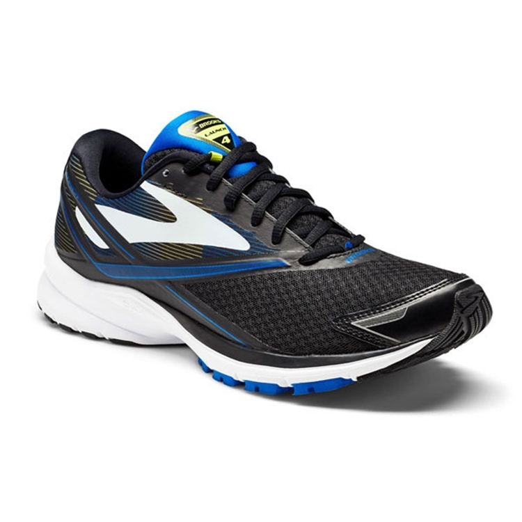 brooks Men's Launch 4 Lapis Blue / Lime / Black