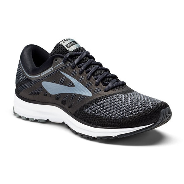 brooks Women's Revel Black / Anthracite / Grey