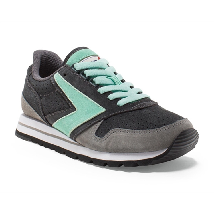 brooks Women's Chariot Anthracite / Wild Dove / Br Green