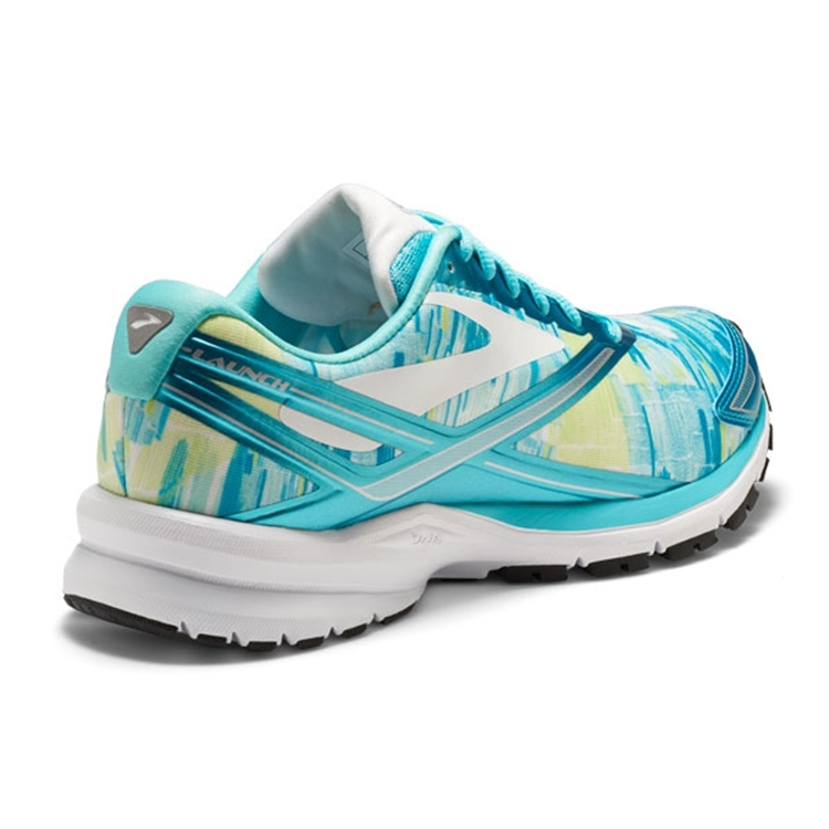 brooks Women\'s Launch 4 Blue Radiance / White